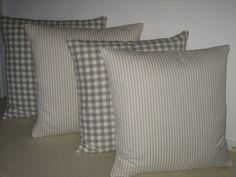 Cushions in Clarke & Clarke fabrics