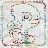 Chunky Alphabet - Free Instant Machine Embroidery Designs