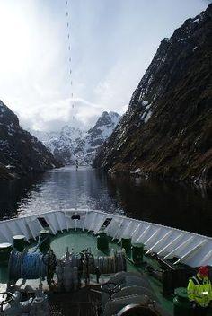 Trollfjord : si ,on y fait demi tour et ça passe !
