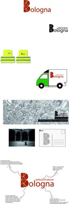 Bolgna City Branding  Primo lavoro di grafica pubblicitaria  ©