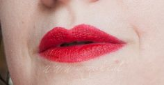 Manuki's Makeup and Creativity ☆ : [Lipstick ID] Avon Perfectly Matte in Red Supreme