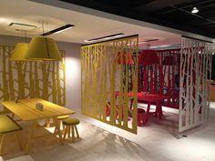 Buzzispace - Buzzifalls #ISYatNeoCon #NeoCon15: Healthcare Design, Foyers Renovation, Chicago 2015