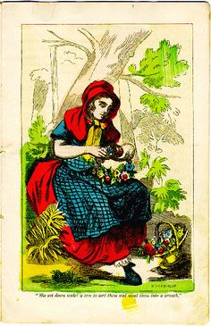 Little Red Riding Hood, illus. W. Momberger, Aunt Mary's series (New York: McLoughlin Bros., 1856)