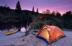 Top 10 des endroits pour faire du canot camping au Québec par evasion.tv