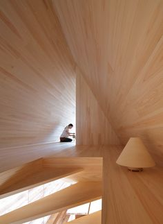 The 'yoshino-sugi Cedar House' is the first outcome of airbnb's newly created multi-disciplinary innovation and design studio: Samara. Together with Tokyo-based architect Go Hasegawa, the scheme focuses on a narrative directed at the town of yoshino in the nara prefecture.
