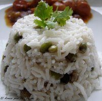 "Panamanian Dish: "" Arroz con Coco y Guandu"" (coconut rice and pigeon peas)"