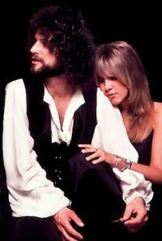 Vintage Fleetwood Mac. Lindsey Buckingham and Stevie Nicks.