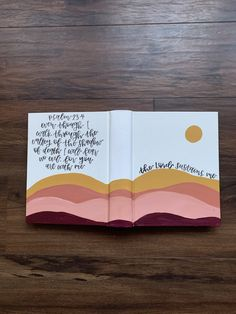 Dia De Las Madres Frases Discover The Lord Sustains Me ESV Painted Journaling Bible Bible Verse Painting, Bible Art, Bible Verses, Bible Book, Cute Bibles, Bibel Journal, Bible Doodling, Bible Study Journal, Bible Journaling For Beginners