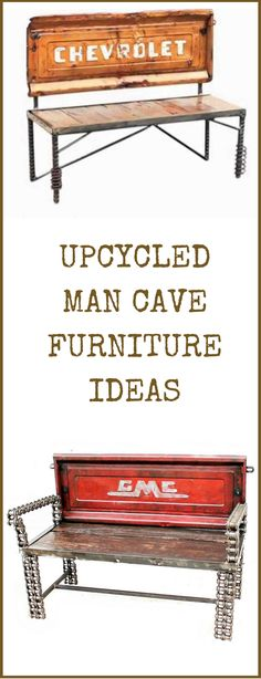 How To Build Man Cave Furniture : Images about recycle reuse make a difference on