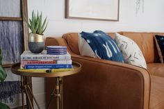 Living Room Makeover with West Elm