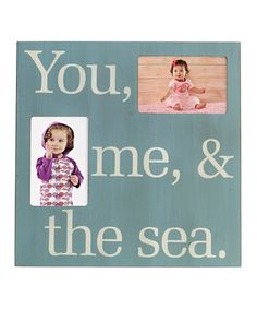 Look at this #zulilyfind! 'The Sea' Photo Plaque Wall Art by Elements by Lifetime Brands #zulilyfinds