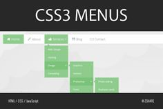 zshare: create CSS3 Menus for $5, on fiverr.com