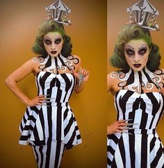Beetlejuice female costume