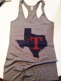 Texas Rangers Tank - I'm looking for this one!