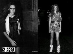 Stereo | bota por Caroline Molleri (2008)
