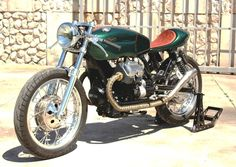 Moto Guzzi Cafe Racer #motorcycles #caferacer #motos | caferacerpasion.com