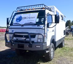 The FX is based on the Mitsubishi Fuso Canter FG 4x4