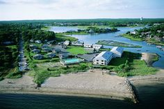 Aerial View of Green Harbor Resort