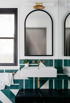 The winners of the Australian Interior Design Awards 2018 have been announced. The winning interior and commended projects in the Best Residential Interior Decoration category showcase inspirational ideas. Bad Inspiration, Bathroom Inspiration, Interior Inspiration, Bathroom Ideas, Bathroom Designs, Bathroom Vanities, Bathroom Organization, Bathroom Cabinets, Bathroom Renovations