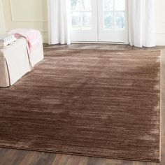Vision Brown 6 ft. x 9 ft. Area Rug