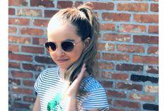 Deze te gekke bril vond ik op de website van Optiek Dominiek in Hoogstraten. Wat vind jij ervan? Round Sunglasses, Sunglasses Women, Etnia Barcelona, Laguna Beach, Website, Fashion, Moda, La Mode, Fasion