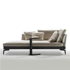 Flexform Feel Good Chaise Longue - Style # 14W21, Outdoor Chaise Lounge – Outdoor Daybed – Modern Outdoor Daybed – Modern Outdoor Chaise Lounge | SwitchModern.com