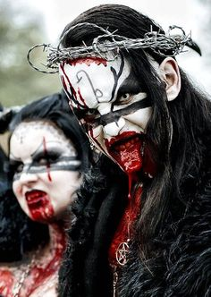 corpse paint is metal