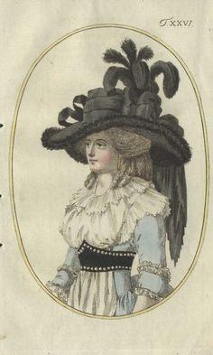 Journal des Luxus, Sigh…so exquisite! Rococo Fashion, Victorian Fashion, European Fashion, Vintage Fashion, Fashion Goth, French Fashion, Ladies Fashion, 18th Century Clothing, 18th Century Fashion