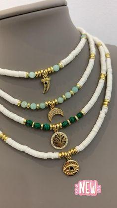 Diy Jewelry Unique, Handmade Wire Jewelry, Cute Jewelry, Jewelry Crafts, Diy Jewelry Necklace, Bead Jewellery, Beaded Jewelry, Beaded Bracelets, Fashion Bracelets