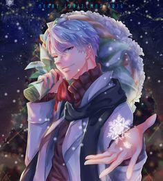 V : Merry Christmas (by dexipher, Mystic Messenger)