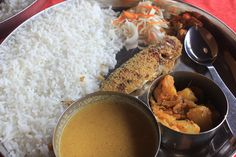 Posted on Cityloque MACKEREL THALI GOA The most amazing mackerel Thali was found in a road side cafe in rural Goa. Goa, Life Is Good, Lunch, Amazing, Eat Lunch, Life Is Beautiful, Lunches, Orphan