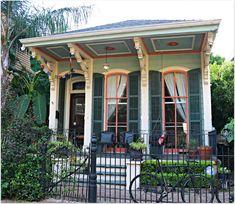 new orleans garden district homes | New Orleans Cottage in Lower Garden District