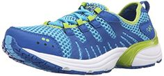 RYKA Womens Hydrosport 2 Athletic Water Shoe BlueLime 65 M US ** Details can be found by clicking on the image.