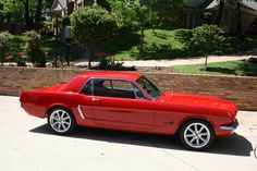 I am in love with this 65 Mustang. What a beaut