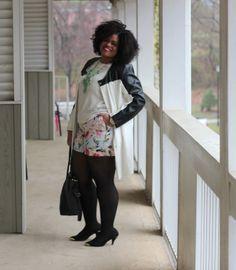 Plus Size Fashion - Wearing Ashley Stewart, New York & Company and more!