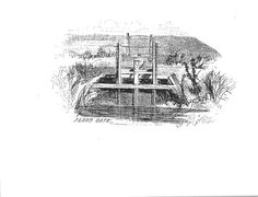 English Plantations on the St. Johns River ~ Flood gate for inundating rice fields 1867 Black History Inventors, Unsung Hero, Missing Piece, Water Pipes, African American History, The St, History Facts, Black People, English