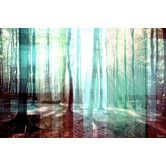 Found it at AllModern - Tree Rays Graphic Art on Premium Wrapped Canvas