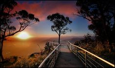 Sunrise from Boroko Lookout, Mount Difficult - Grampians National Park, Halls Gap, Victoria, Australia - Photo Misty Mountain Hop by Mark Cooper Photography on Beautiful World, Beautiful Places, Beautiful Scenery, Misty Mountain Hop, Victoria Australia, Victoria Canada, Parcs, Landscape Photography, The Best