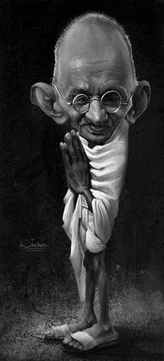 """""""O mundo é suficientemente grande para satisfazer as necessidades de todos mas sempre será pequeno para a avareza de alguns.""""   Mahatma Gandhi"""