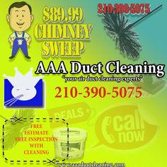 Chimney Cap, Chimney Sweep, Senior Citizen Discounts, Clean Air Ducts, Duct Cleaning, San Antonio