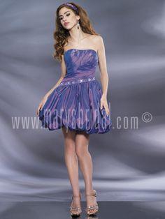 Astra Formal - Kiss Kiss 3796   Size 6 Purple Mary's Bridal, Short Gowns, Strapless Dress, Kiss, Formal Dresses, Purple, Fashion, Vestidos, Artists