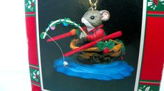 Vintage Enesco Reeling in the Holidays by ChaseyblueVintage