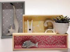 Manualidades y Artesanías   Estantes con cajas   Utilisima.com  http://www.utilisima.com/manualidades/8707-estantes-con-cajas.html