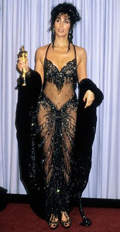 Outrageous Oscars Looks - Cher, 1998 from #InStyle