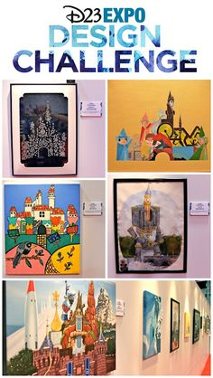 D23 EXPO DESIGN CHALLENGE: Finalists and Winner! You must check out these beautiful entries inspired by Sleeping Beauty Castle in honor of Disneyland's 60th Anniversary that were on display at this year's Expo! @DisneyD23 #D23EXPO
