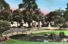 Agen jardin du pin vers 1970