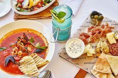 Новые красочные блюда из нашего меню #terrassa #food #meat #appetizer #ginza #ginzaproject #tasty #summer #seafood #soup