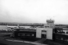 #TBT #throwbackthusday ROA terminal and air traffic control tower 1952
