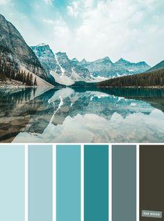 Color Palette : Teal Hue ,teal color scheme #color #palette #colorpalette