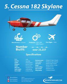 Cessna 182 #Aviation #avgeek